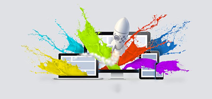 Разработка дизайна сайта.